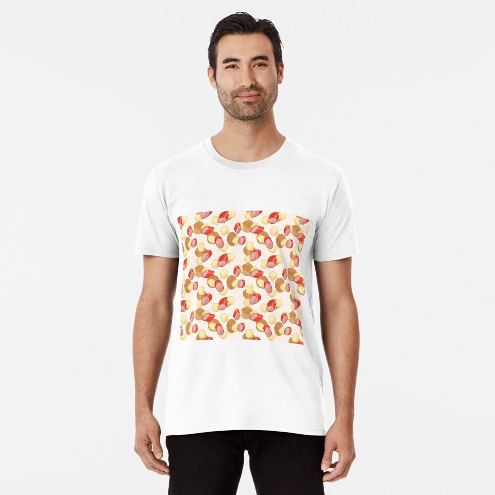 Käse, Kabana und Cracker, Aussie Perfection in Cream Premium T-Shirt