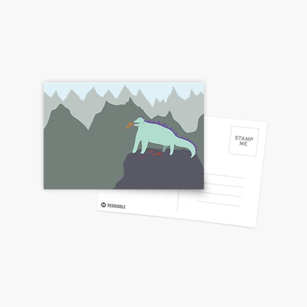 Happy Dragon Postcard