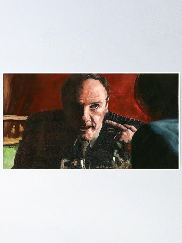 Alternate view of Tony Soprano Poster