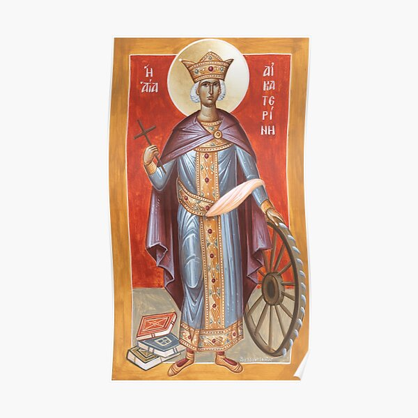 St Katherine of Alexandria Poster