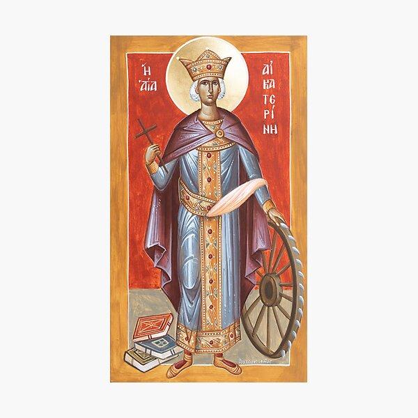 St Katherine of Alexandria Photographic Print