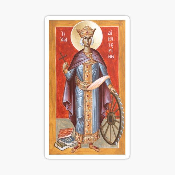 St Katherine of Alexandria Sticker