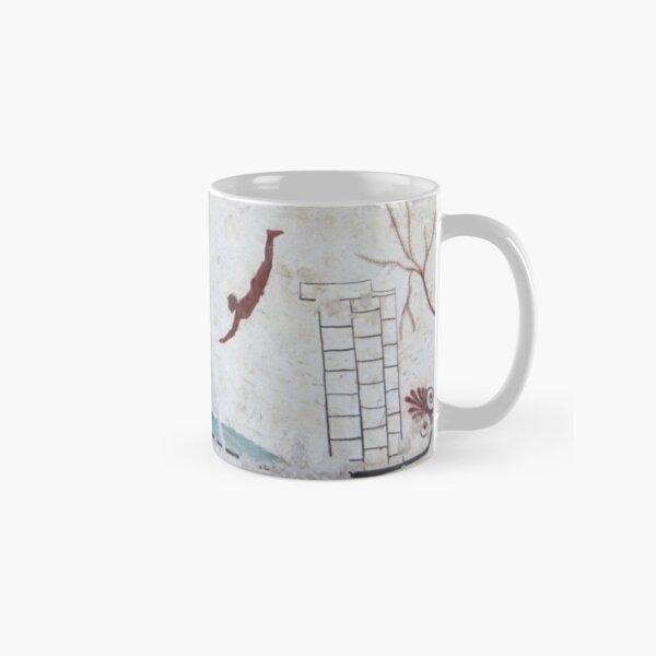 Tomb of the Diver, Paestum Classic Mug