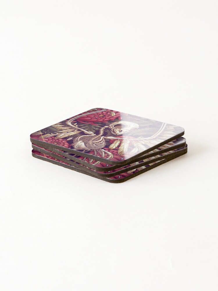Alternate view of EFFLORESCENCE  Coasters (Set of 4)