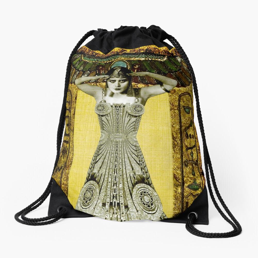 Theda Bara Drawstring Bag