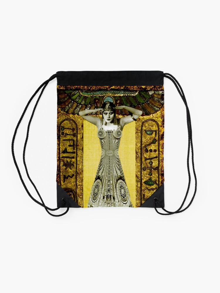 Alternate view of Theda Bara Drawstring Bag