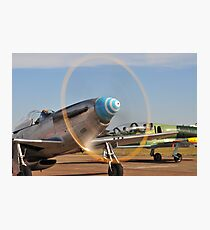 Mustang ready for action! Photographic Print