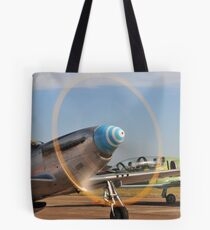 Mustang ready for action! Tote Bag