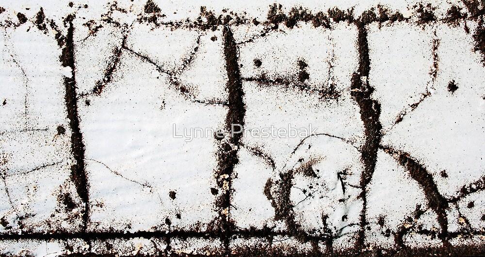 calligraphy - of the grunge type by Lynne Prestebak