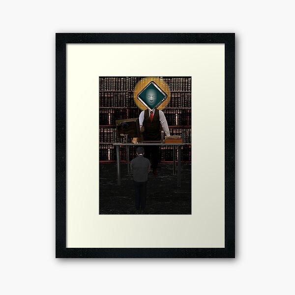 The Bureaucratic Process Framed Art Print