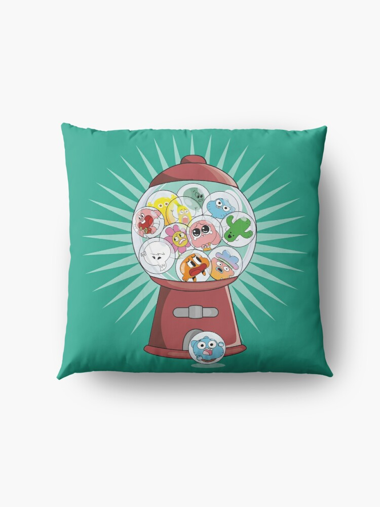 Alternate view of The Amazing Gumball Floor Pillow