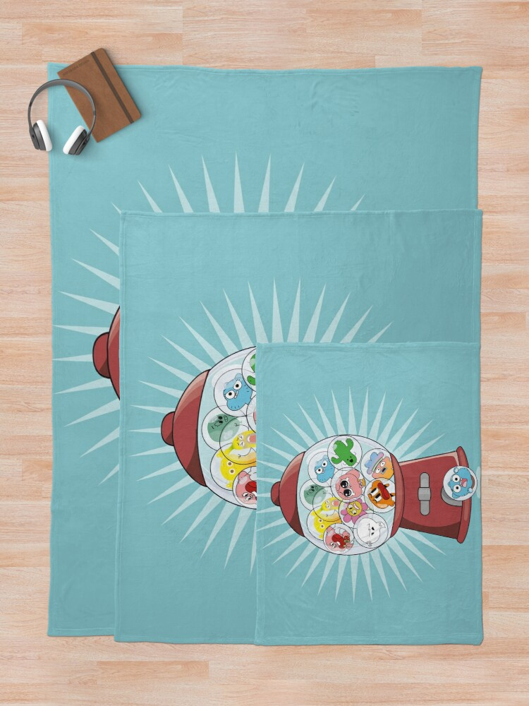Alternate view of The Amazing Gumball Throw Blanket