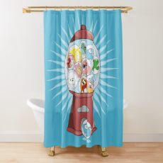 The Amazing Gumball Shower Curtain