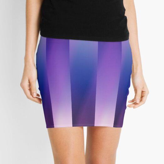 Mauve Moves Mini Skirt