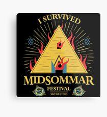 Sacrifice - Midsommar Festival Metal Print