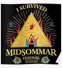 Sacrifice - Midsommar Festival Poster