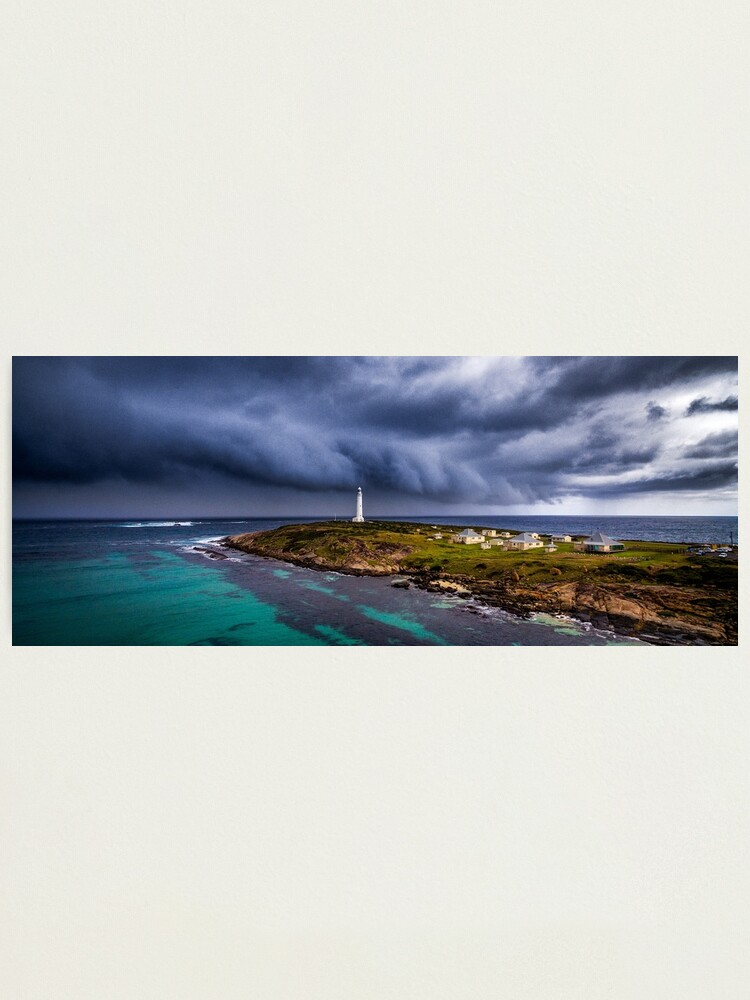 Alternate view of Cape Leeuwin Lighthouse Photographic Print