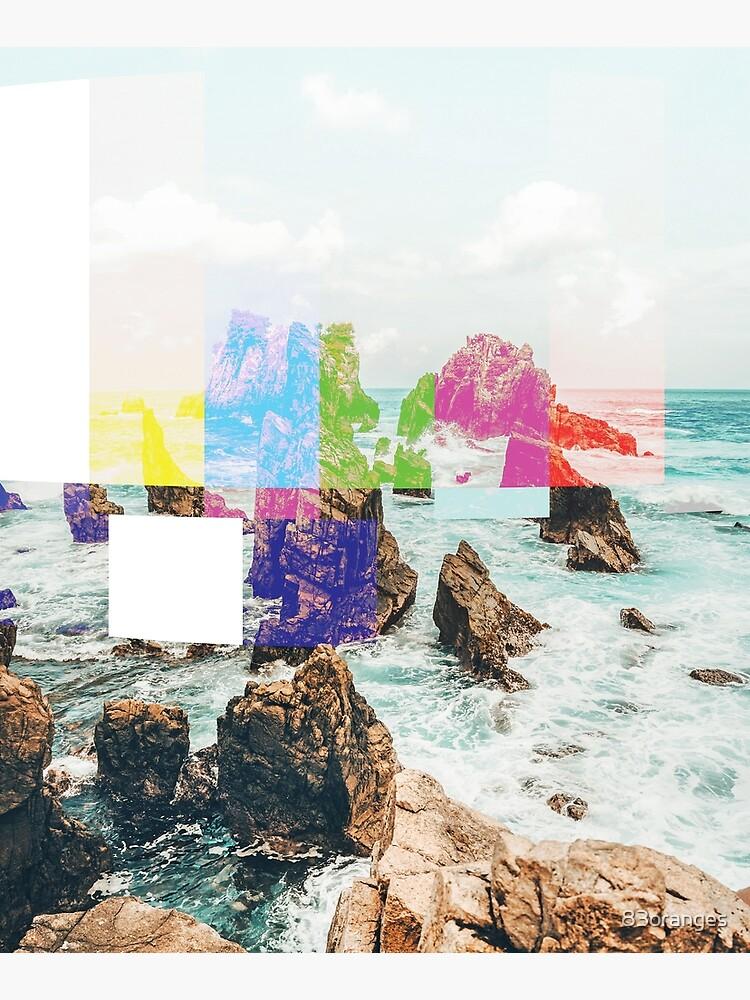 Virtual Sky Glitch #abstract #digitalart by 83oranges