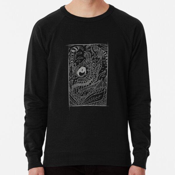 Monster Fly Flower Trap Lightweight Sweatshirt