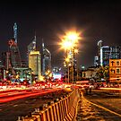 Bustling Nightlife by Scott Carr