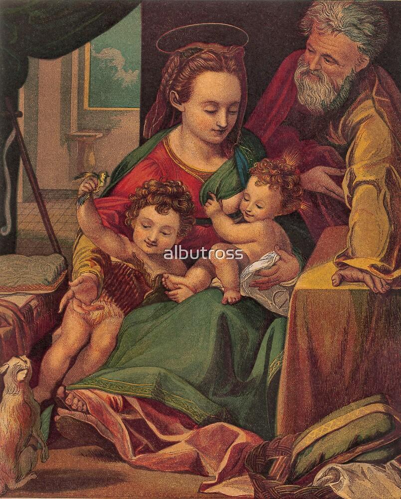 The Holy Family. by albutross