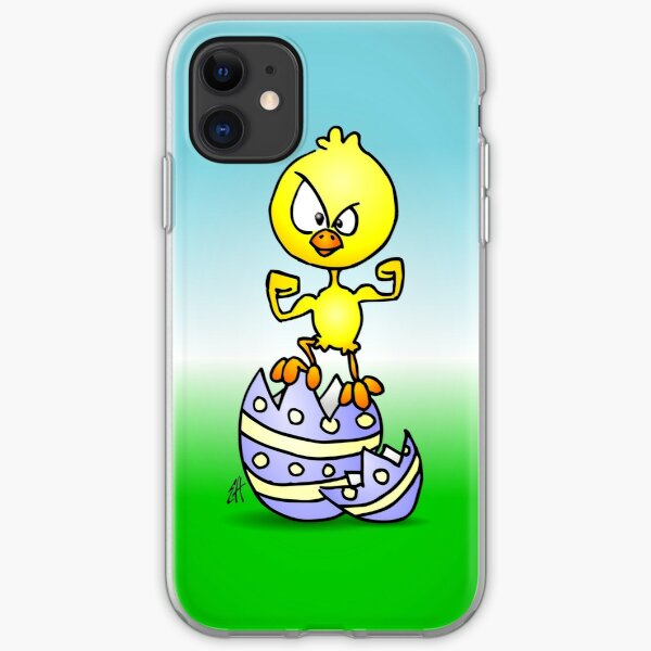Easter Chick iPhone Soft Case