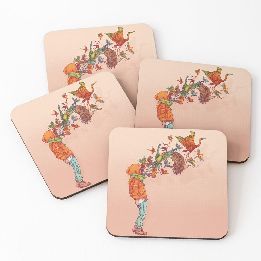 ENVOL Coasters (Set of 4)