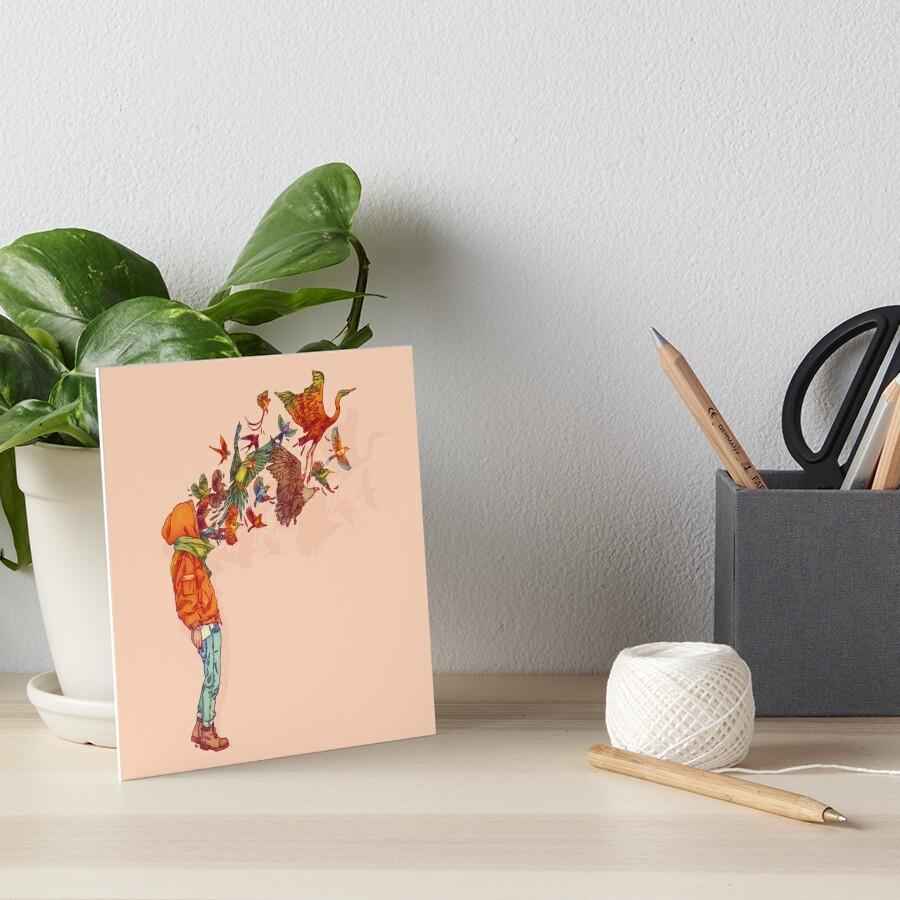 ENVOL Art Board Print