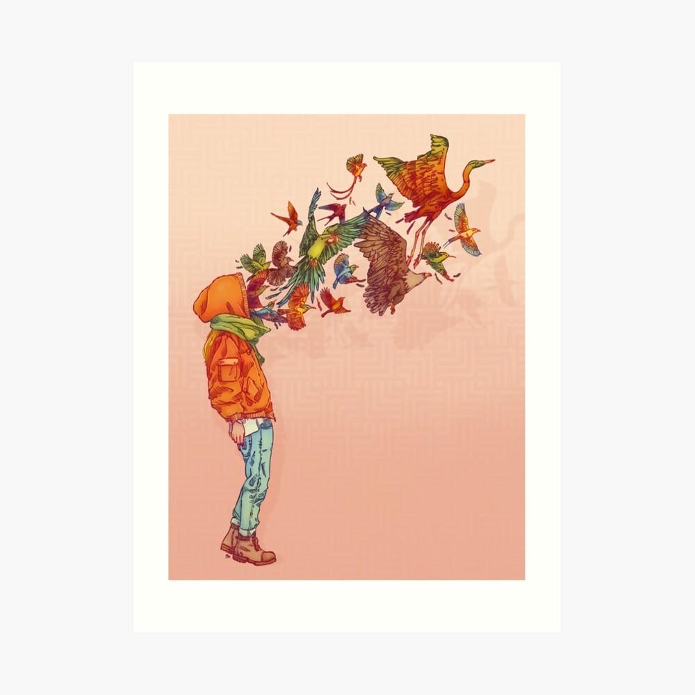 ENVOL Art Print