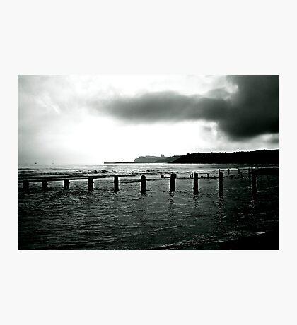 Looking Across Sandsend Wyke. Photographic Print