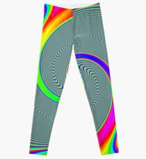 #Rainbow, #creativity, #abstract, #vortex, bright, design, art, nature, psychedelic  Leggings