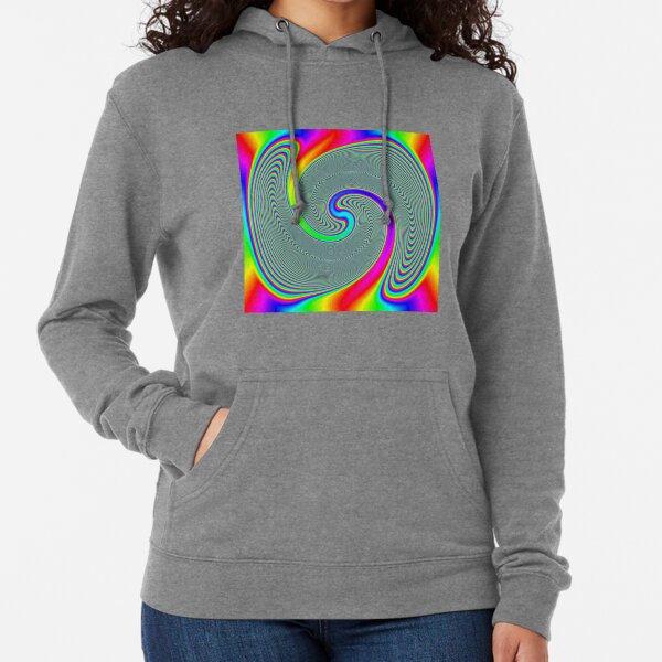 #Rainbow, #creativity, #abstract, #vortex, bright, design, art, nature, psychedelic  Lightweight Hoodie