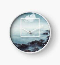 merging sky and sea Clock