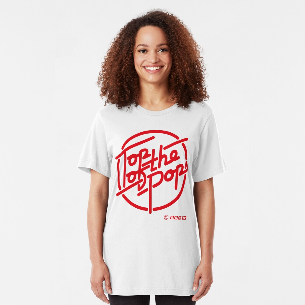 NDVH Top of the Pops red Slim Fit T-Shirt