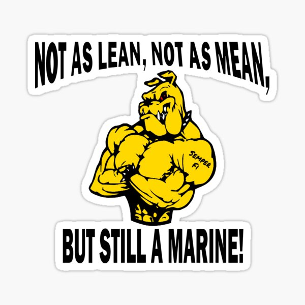 Still a Marine Sticker