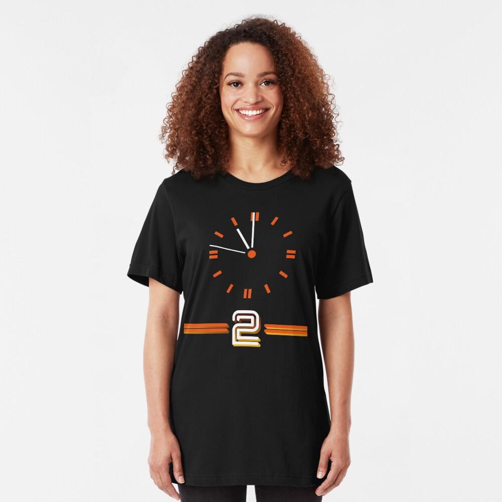 NDVH BBC 2 Clock Slim Fit T-Shirt