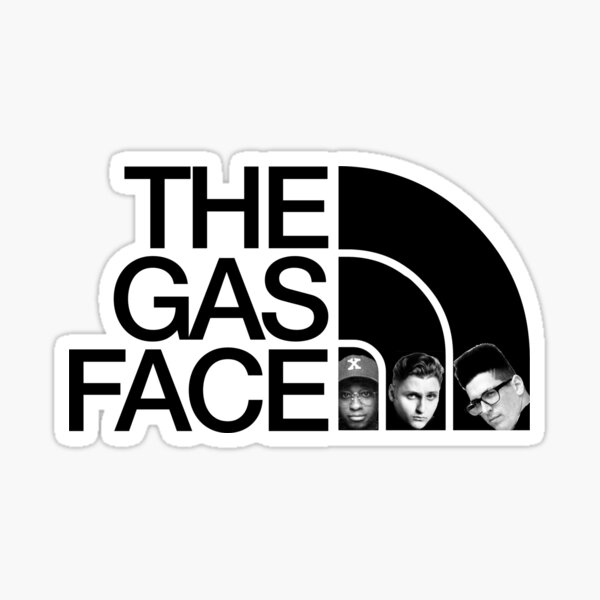 The Gas Face Sticker