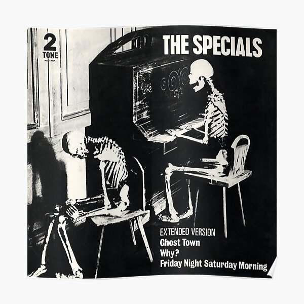 The Specials (Ghost Town) Poster