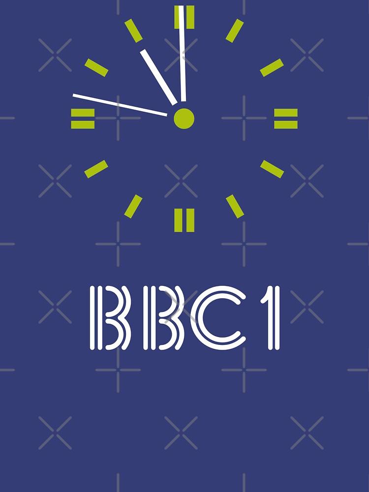 NDVH BBC 1 Clock by nikhorne