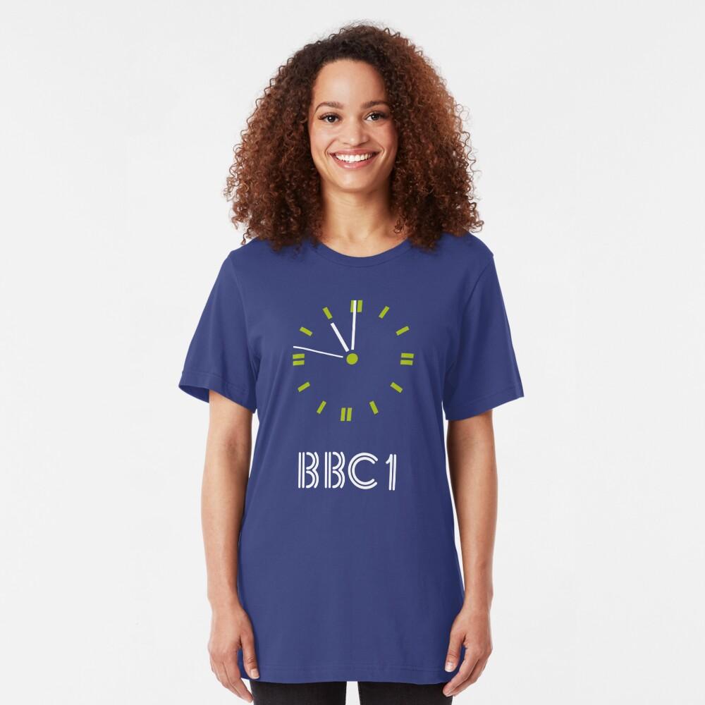 NDVH BBC 1 Clock Slim Fit T-Shirt