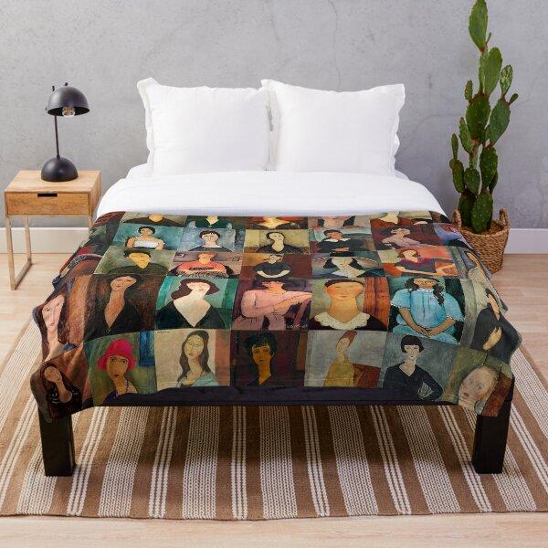Amadeo Modigliani Throw Blanket