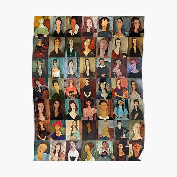 Amadeo Modigliani Poster