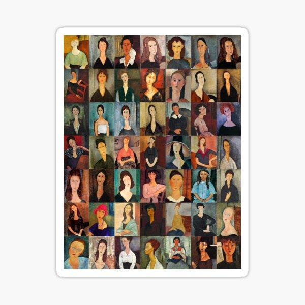 Amadeo Modigliani Sticker
