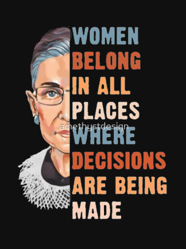 Las mujeres pertenecen a todos los lugares donde se toman decisiones de amethystdesign