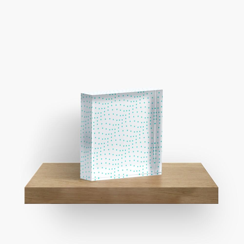 #Design, #punt, #art, #abstract, square, pattern, illustration, vector, modern Acrylic Block