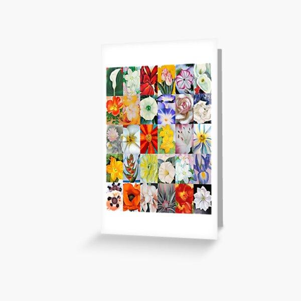 Georgia O'Keeffe Flowers Greeting Card
