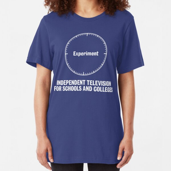 NDVH Independent Television For Schools And Colleges - 1970s Slim Fit T-Shirt