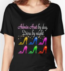 ADMIN ASSISTANCE SHOE LOVER Women's Relaxed Fit T-Shirt