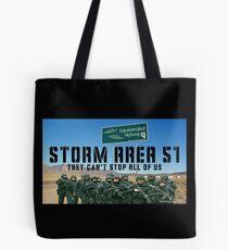 Storm Area 51 Tote Bag
