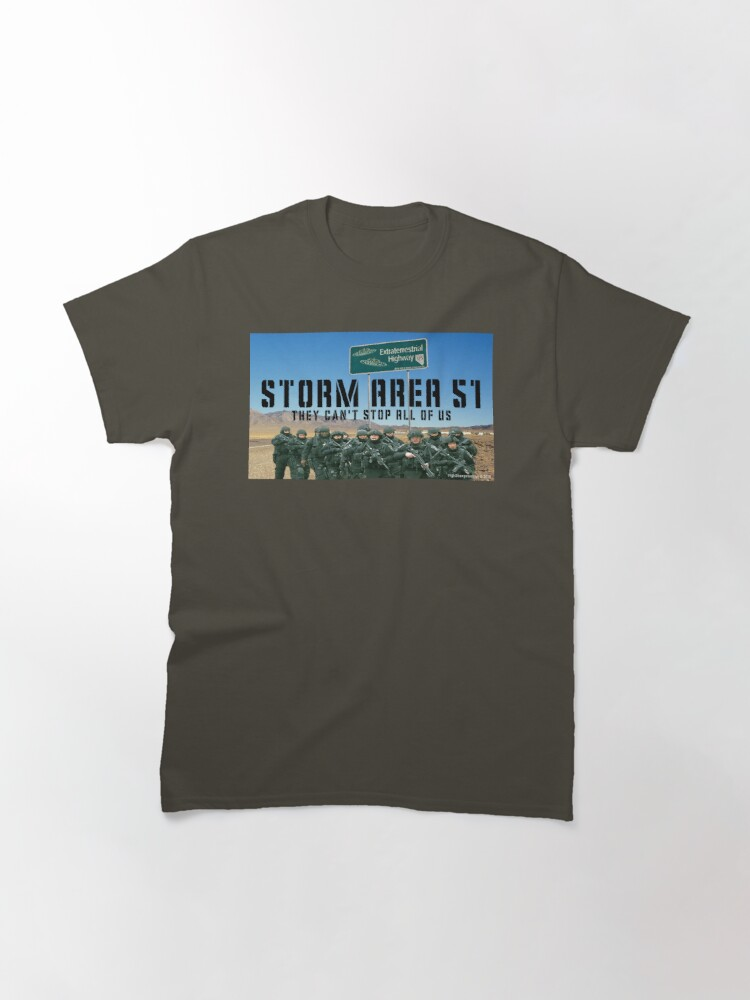 Alternate view of Storm Area 51 Classic T-Shirt